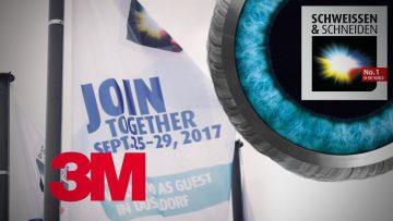 3M auf der SCHWEISSEN & SCHNEIDEN 2017