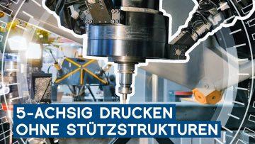 Additive Fertigung von Metrom: 5-achsig drucken ohne Stützstrukturen | Intec 2019 | METAL WORKS-TV