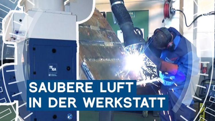 Energiekosten senken: Saubere Luft in der Werkstatt | Teka | METAL WORKS-TV