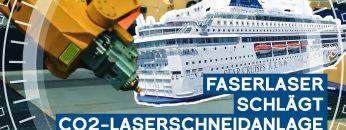 Faserlaser schlägt CO2-Laserschneidanlage: Weniger Wartung, geringerer Ausfall