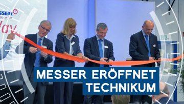Gasespezialist Messer eröffnet Technikum in Krefeld | Unsere Woche | METAL WORKS-TV