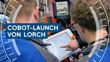 Händlerschulung von Lorch: Schweißen mit dem Lorch Cobot Welding Package
