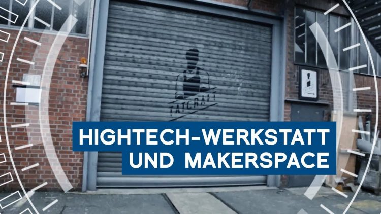 Hightech-Werkstatt und MakerSpace Tatcraft in Frankfurt   METAL WORKS-TV