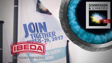 Ibeda auf der SCHWEISSEN & SCHNEIDEN 2017