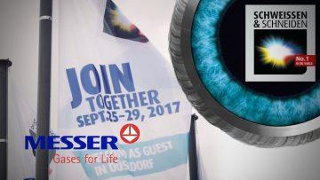 MESSER auf der SCHWEISSEN & SCHNEIDEN 2017