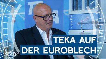 Messevorbericht: TEKA auf der Euroblech 2018 | Unsere Woche | METAL WORKS-TV