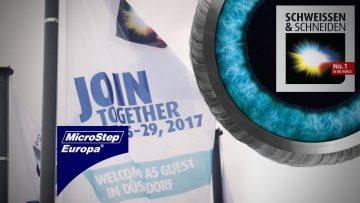 MicroStep auf der SCHWEISSEN & SCHNEIDEN 2017