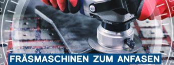 Mobile Kantenfräsmaschinen zum Anfasen und Kantenverrunden: GERIMA SMA-MINI | METAL WORKS-TV