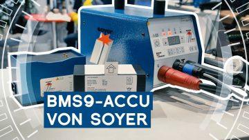 Mobiles Bolzenschweißgerät BMS-9 ACCU von Soyer   Intec 2019   METAL WORKS-TV