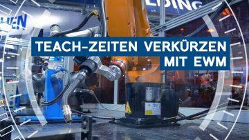 Roboterschweißen: Teach-Zeiten verkürzen mit EWM | Euroblech 2018 | METAL WORKS-TV
