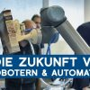 Robott-Net-Projekt beim Open Lab des Fraunhofer Institut in Stuttgart | METAL WORKS-TV