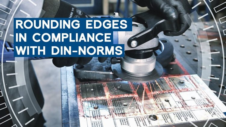 Rounding edges DIN standard-compliant | Quick tip | METAL WORKS-TV