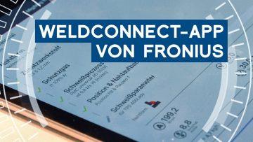Schweißparameter mit der WeldConnect-App von Fronius berechnen | METAL WORKS-TV