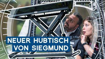 Siegmund bringt mobilen Hubtisch raus   EMO Hannover 2019   METAL WORKS-TV
