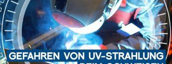 So gefährlich ist UV-Strahlung beim Schweißen | METAL WORKS-TV