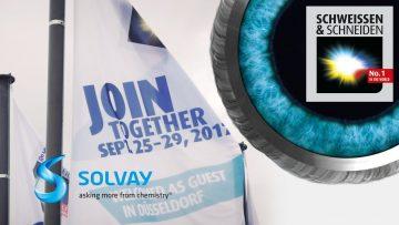 Solvay auf der SCHWEISSEN & SCHNEIDEN 2017