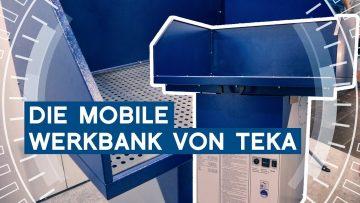 TEKA Mobile Werkbank mit Airtoo   Intec 2019 Leipzig   METAL WORKS-TV