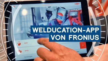 Virtuelles Schweißen mit der Welducation-App von Fronius| METAL WORKS-TV