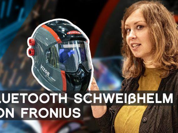 Fronius: Bluetooth Schweißhelm Vizor Connect | METAL WORKS TV
