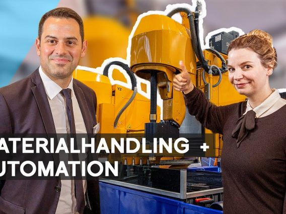 Microstep: Materialhandling in der Automation | METAL WORKS TV