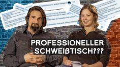 Professioneller Schweißtisch – Lohnt sich das? | Nik kommentiert Kommentare | METAL WORKS TV