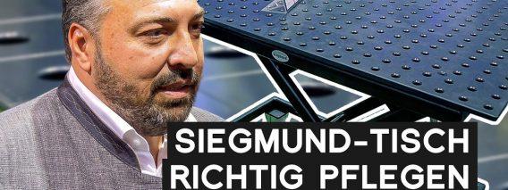 Siegmund Schweißtisch richtig pflegen | METAL WORKS TV